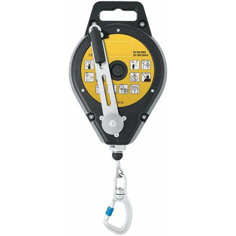Dispositivo anticaídas retráctil rescatador de cable 25m EN360/EN1496