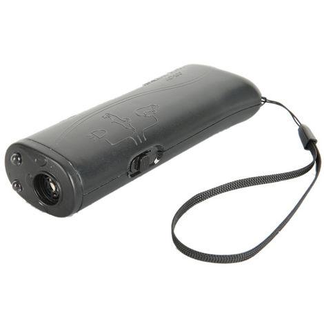 Dispositivo de ladrido anti-ladrido 3 en 1, control de repelente para perros, negro