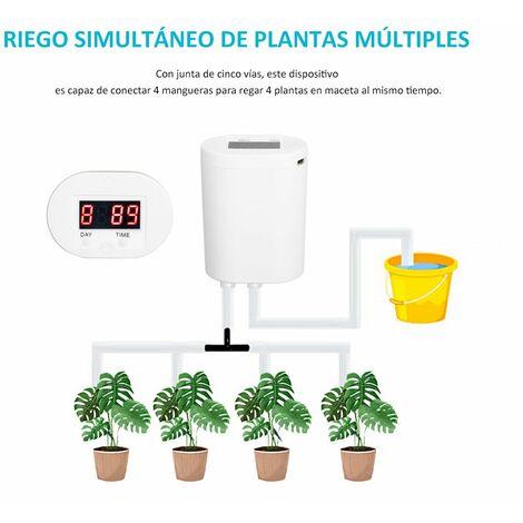 "main image of ""Dispositivo de riego automatico, controlador de agua inteligente, sistema de riego automatico, kit de riego por goteo, para 4 plantas en macetas"""
