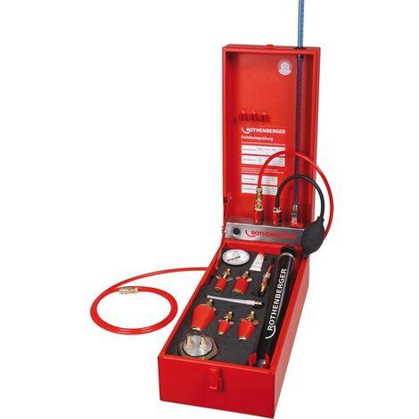 Dispositivo de verificación de impermeabilidad universal ROTEST H® GW 150/4, Manómetro : 4 bar, columna de agua 4 mba, Peso : 7,6 kg