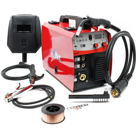 Dispositivo soldador MIG - MAG de 40-160 amperios, para hilo fundente 0,6-0,8mm con termointerruptor