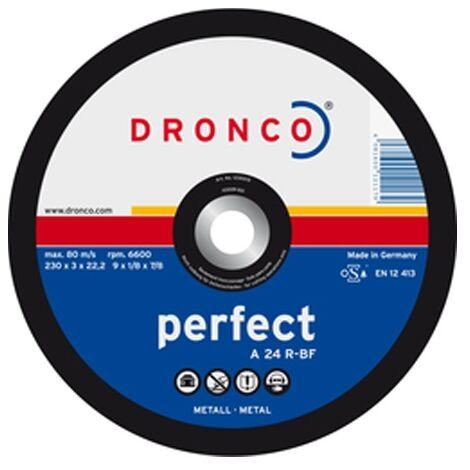 """main image of """"Disque 230x2.5 A24R-BF acier quality Dronco"""""""