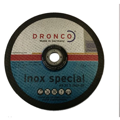 "main image of ""Disque 230x2.5 AS30S inox spécial Dronco"""