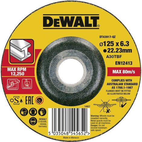 Disque à dégrossir métal 125 x 6 mm R543051
