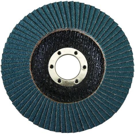 Disque à lamelles en Zirconium 115mm Silverline