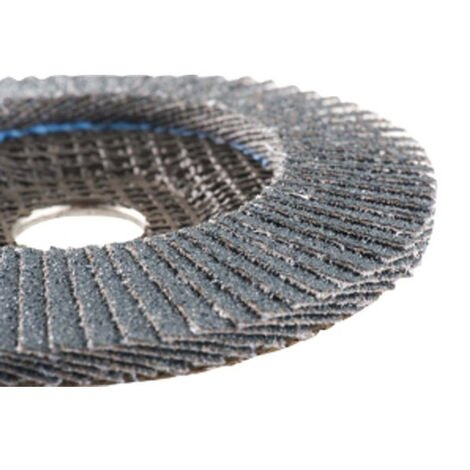 """main image of """"Disque à lamelles Zirconium HERMES - grain 60 - Lot de 10 - 6018698"""""""