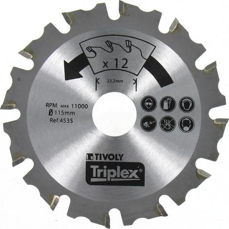 Disque à sculpter Tivoly - Diamètre 125 mm
