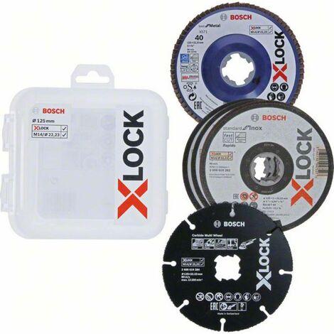 Disque à surfacer à lamelles Bosch Accessories X-LOCK 2608619374 Ø 125 mm 5 pc(s)