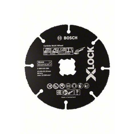 Disque à tronçonner 1 pièce Bosch Accessories 2608619284 125 mm 1 pc(s)