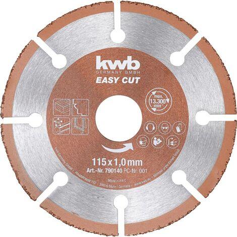 Disque à tronçonner 1 pièce kwb 790540 125 mm 22.23 mm 1 pc(s)