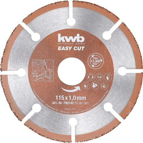 Disque à tronçonner 1 pièce kwb 790640 150 mm 22.23 mm 1 pc(s)