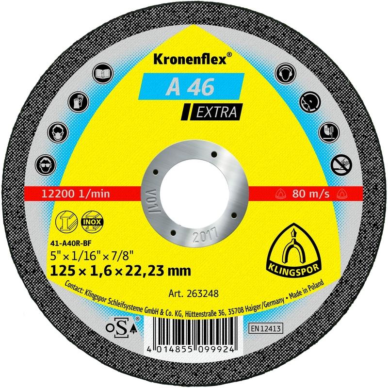 Bosch 2608603162 Disque /à tron/çonner /à moyeu d/éport/é standard for metal A 30 S BF 230 mm 22,23 mm 3,0 mm
