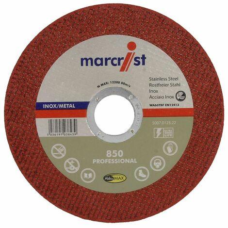 Disque à tronçonner 850 ultra fin pour métal et inox Ø 115 x 1,0 mm