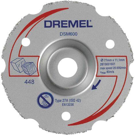 Disque à tronçonner à moyeu déporté Dremel 2615S600JB 77 mm 1 pc(s)