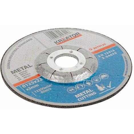 Disque à tronçonner - Alésage 22,2 mm 1 disque 115 mm 3,0 mm