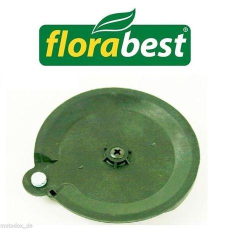 Disque à tronçonner avec vis FAT 18 B2 102971 LIDL Florabest, tondeuse à gazon (à piles)