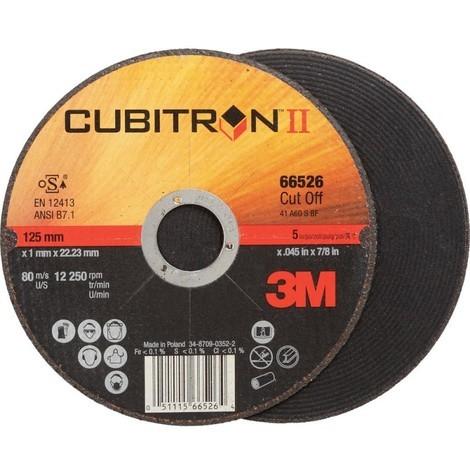 Disque a tronconner Cubitron II 180x1,6mm 3M