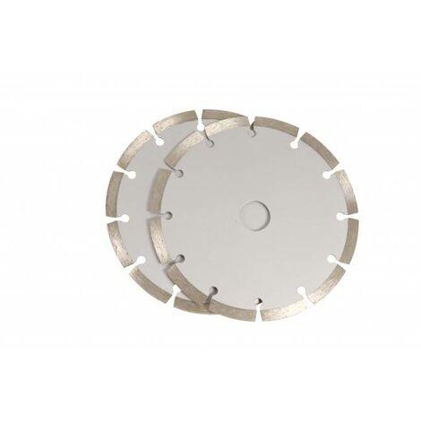 Disque à tronçonner diamanté Ferm WSA1002 Ø 150 mm 2 pc(s) Y942681