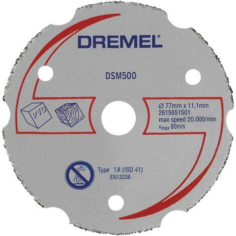 Disque à tronçonner Dremel DSM500 2615S500JB 77 mm 1 pc(s)