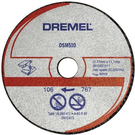 Disque à tronçonner Dremel DSM510 2615S510JB 20 mm 3 pc(s)