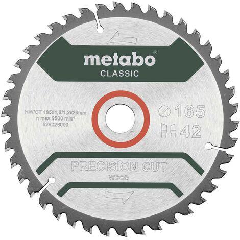 Disque à tronçonner Metabo 628026000 165 mm 20 mm 1 pc(s)