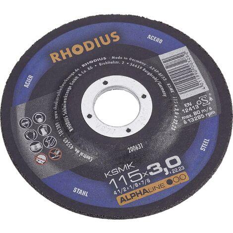 Disque à tronçonner Metal 180 mm Rhodius KSM 180 X 3 X 22.2 mm C99441