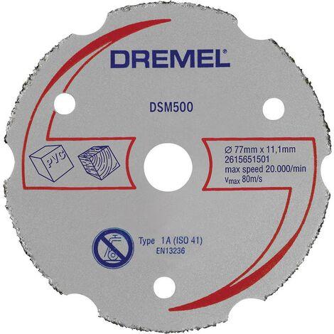 Disque à tronçonner multi-usage en carbure Dremel DSM 500