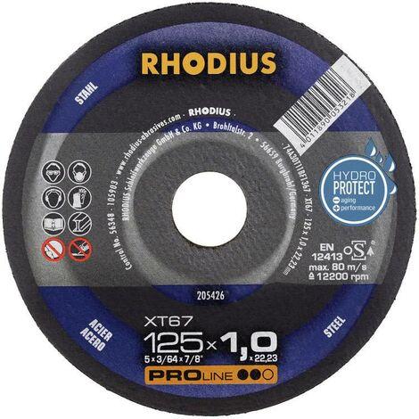 Disque à tronçonner Rhodius XT67 205711 230 mm 22.23 mm 1 pc(s) Q998292