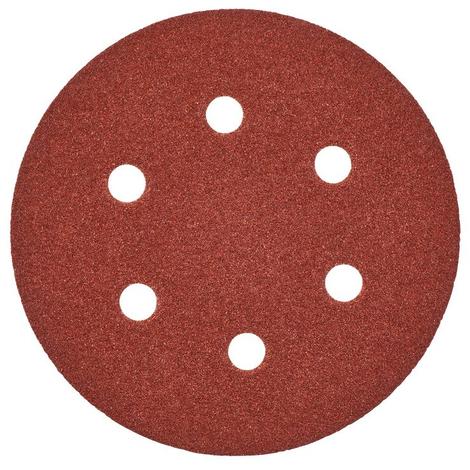 Disque abrasif Ø150 mm MILWAUKEE - grain 80 - 25 pièces - 4932371598
