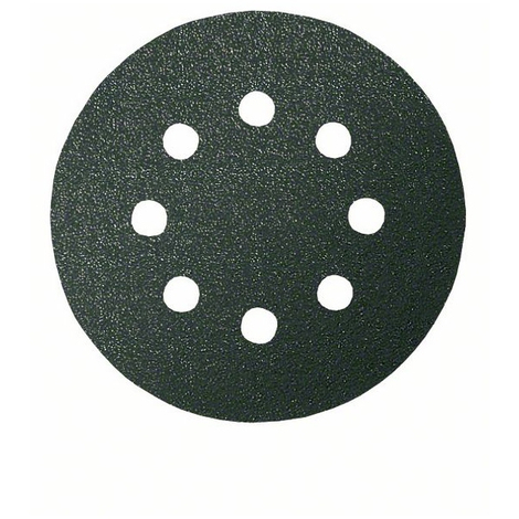 Disque abrasif F355 BOSCH - Ø 125 mm 8 trous - Grain 240 5 pièces - 2608605119