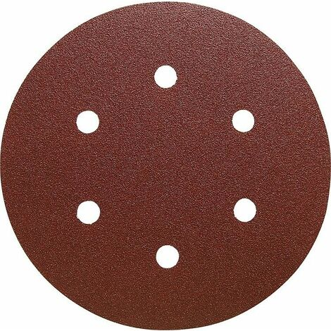 Disque abrasif KLINGSPOR PS22K Diam 125 mm GLS5 grain 180 50 pieces