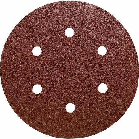 Disque abrasif KLINGSPOR PS22K Diam 150mm GLS2 grain 80 50 pieces