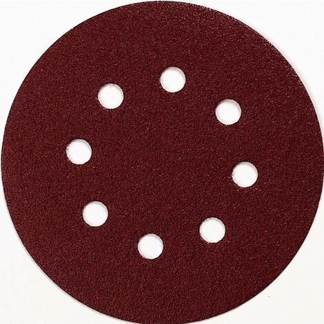 Feuille abrasive pour ponceuse excentrique Makita P-43549 avec bande auto-agrippante Grain 60 (Ø) 125 mm 10 pc(s) W064361