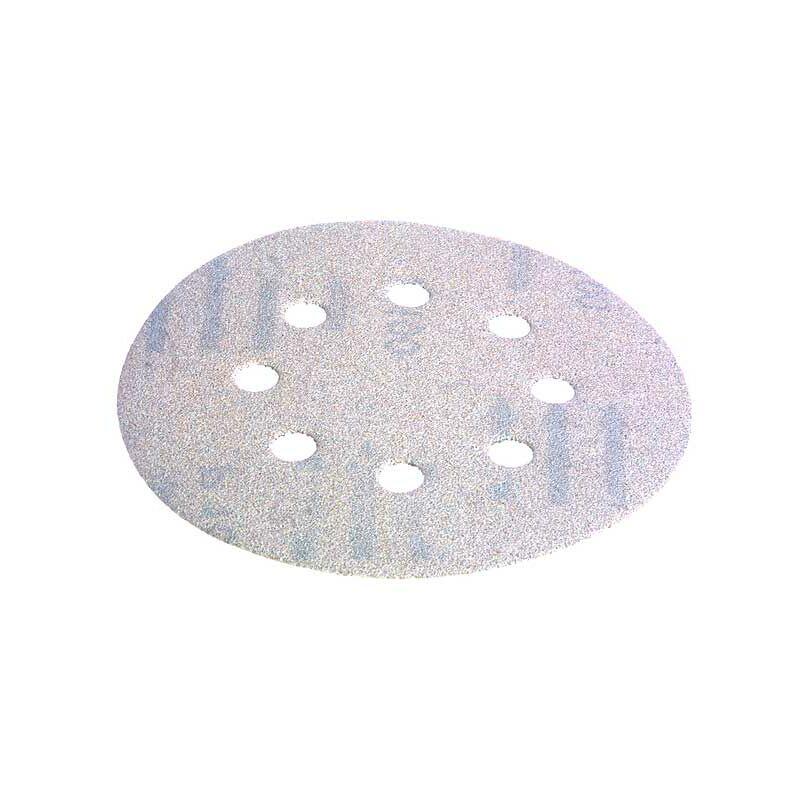 Lot de 50 RETOL disques abrasifs auto-agrippants corindon normal G80 ponceuses multi-disques 125 mm p