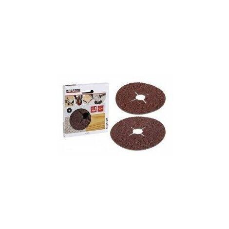 Disque abrasif metal/bois 115mmkrt250006