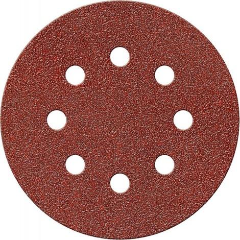 Disque abrasif Velcro Kor. 125 mm K120,8 Loch FORTIS