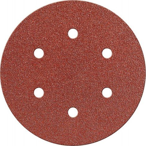 Disque abrasif Velcro Kor. 150 mm K120,6 Loch FORTIS
