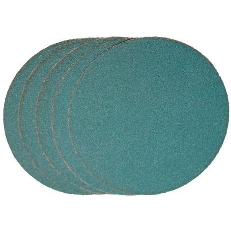 Disque abrasif Velcro ZK 125mm K 80 VSM