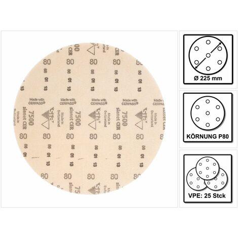 Disque abrasifs fibré 7500CER225mm Keramik K 100 SIA
