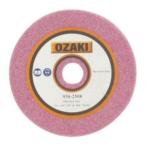 Disque affuteuse chaine tronconneuse Ozaki