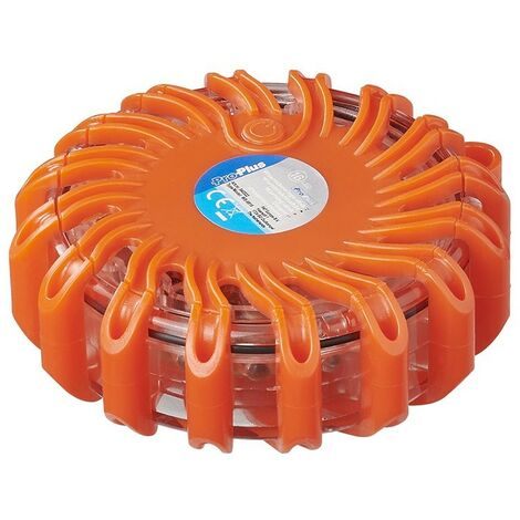 Disque d'avertissement 16LED orange