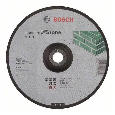 Disque De Coupe Décalée Bosch Pour Ponceuse 115 Mm Pour La Pierre