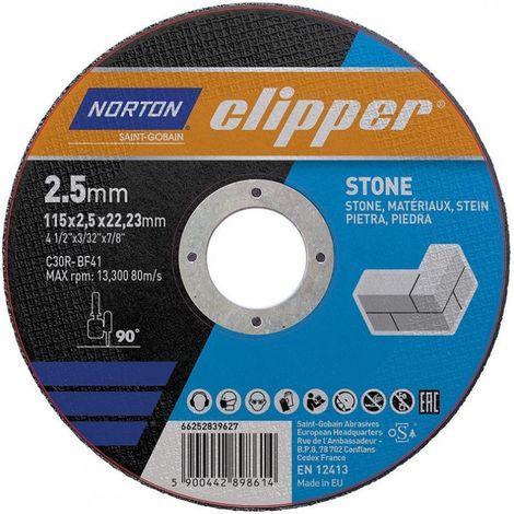 Disque de coupe pierre C30R-115x2.5x22.23mm