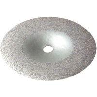 Disque de décapage au carbure pour perceuse Tivoly - Diamètre 125 mm - Grain 40 - Gris
