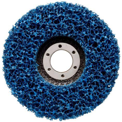 Disque de décapage (flexible) XT-DC/CG-DC, Degré de finesse : extra-grossier, &Oslash 150 mm, Vitesse maxi. 4000 tr/mn, Couleur : bleu
