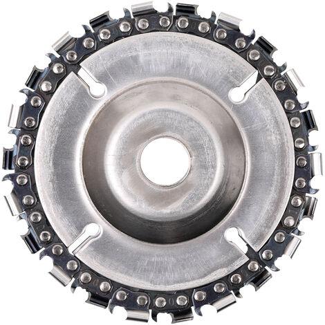 Disque De Meuleuse 4 Pouces Et Chaine, Avec Fixation A Vis, Pour Meuleuses D'Angle 100/115