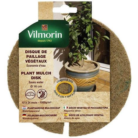 Disque de paillage végétaux 1000g/m²
