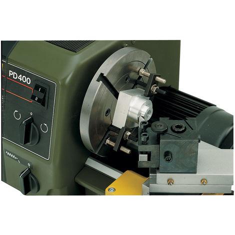 Disque de serrage avec étriers PROXXON 24412 pour tour PD 400