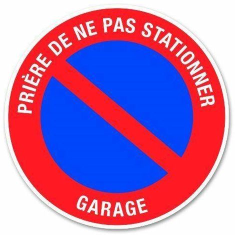 SIGNALISATION DISQUE PANNEAU PVC RIGIDE D 180 MM DEFENSE DE FUMER