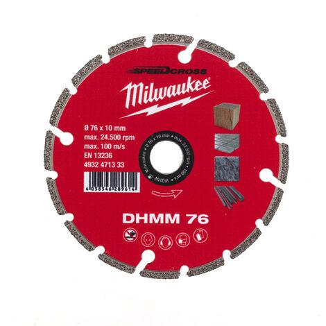Disque diamand multi materiaux 76 mm - 1 pc MILWAUKEE ACCESSOIRES - 4932471333 - -